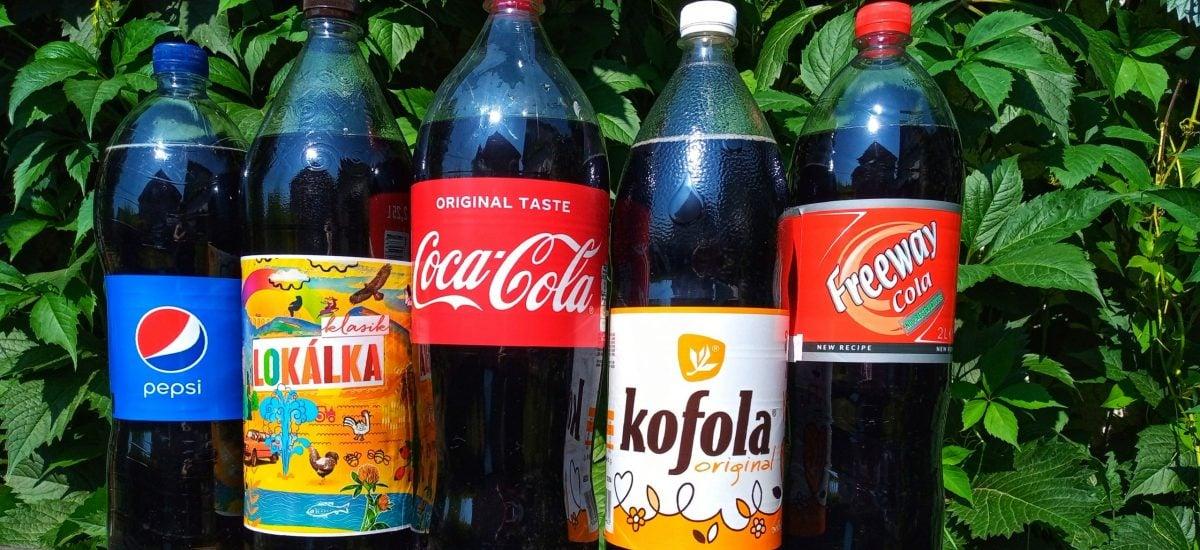 kolové nápoje