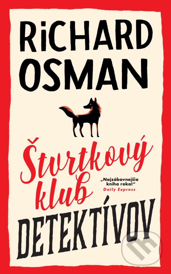 Kniha Štvrtkový klub detektívov