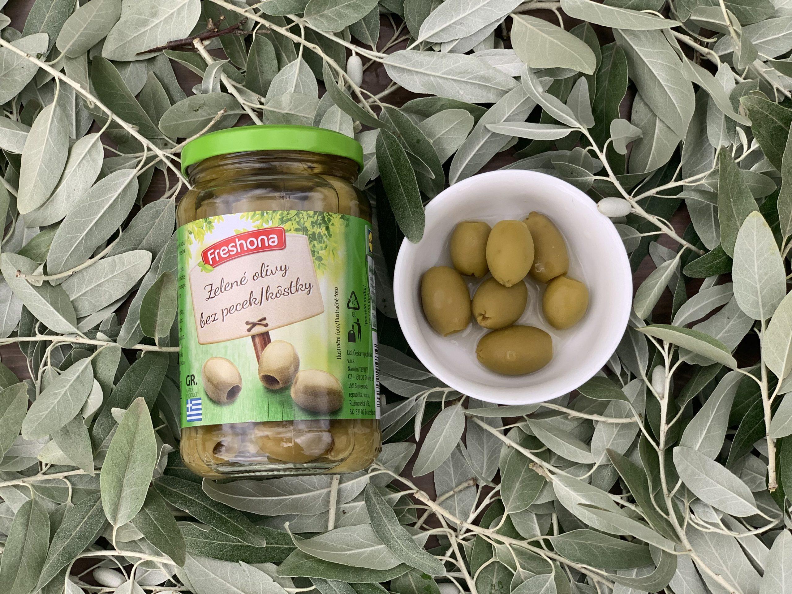 Zelené olivy