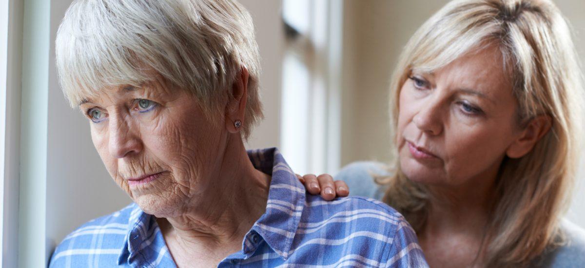 depresia dve staršie ženy