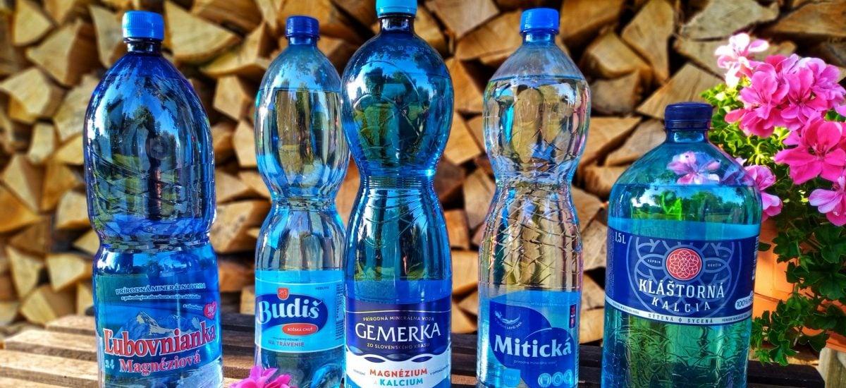 test minerálny vôd