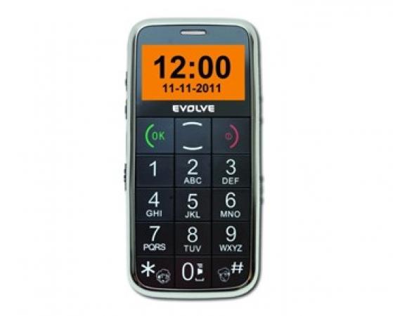 Evolve Ego - telefón s rozmernými tlačidlami určený špeciálne pre potreby seniorov