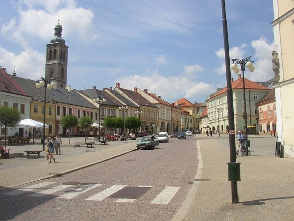 Kutná Hora - Palackého námestie, centrum starého mesta