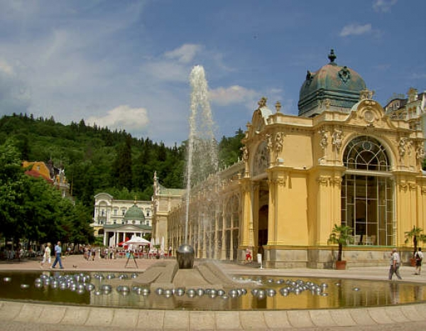 Mariánské Lázně - druhé najväčšie kúpele v ČR