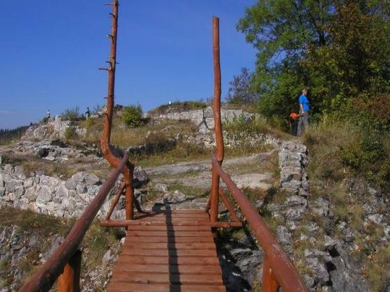 Pozostatky Liptovského hradu