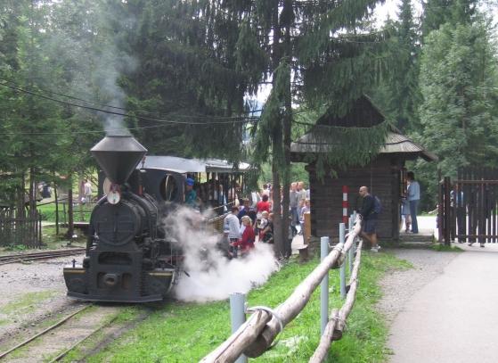 Úzkokoľajná lesná železnica vo Vychylovke na Kysuciach je jedinou fungujúcou železnicou v Európe s úvratovým systémom